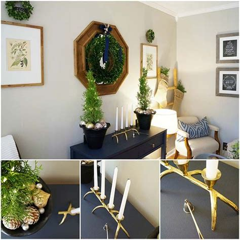 christmas decorating with natural elements decorating ideas with green elements trees other and the