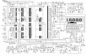 Multimeter Ut39e Sch Service Manual Download  Schematics