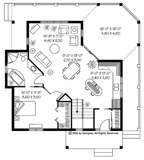 fascinating  bedroom cottage floor plans collection