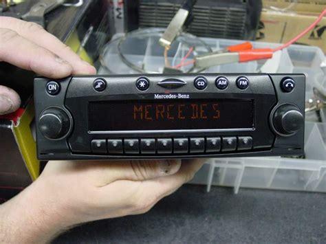560 sl audio upgrade peachparts mercedes forum