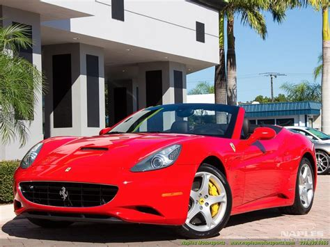 Find out if ferrari 458 italia prices are going up or down and how they have changed over time. 2010 Ferrari California for sale in Naples, FL | Stock ...