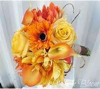 Fall Wedding bouquet -...