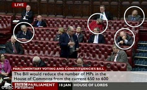 House of Lords reduced to Wild West saloon was once ...