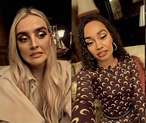 Sairah pinnock will not be the only contestant with a famous relative with dani dyer's father being danny dyercredit: Perrie Edwards and Leigh-Anne Pinnock em 2020