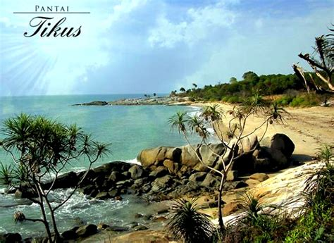 tourist destination   island  bangka belitung
