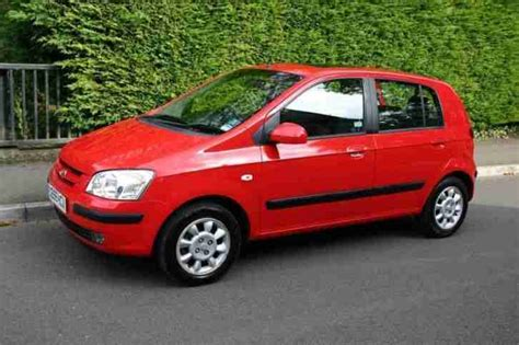 Hyundai Getz 1.3 Cdx 5door Hatch 2005 Petrol Manual In Red