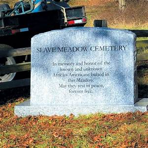 Marker set to honor slaves