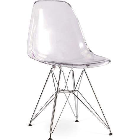 charles eames chaise fauteuil blanc inspire eiffel