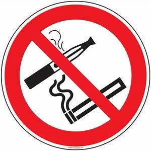 Panneau Interdiction De Fumer : panneau interdiction de vapoter et fumer signals ~ Melissatoandfro.com Idées de Décoration
