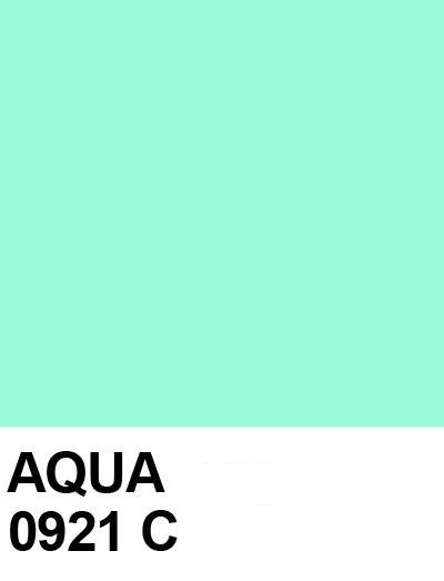 aqua the color pantone aqua my color just beachy pantone aqua color