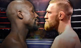 Conor McGregor and Floyd Mayweather Fight