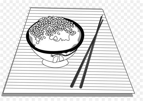 mewarnai gambar nasi hitam putih