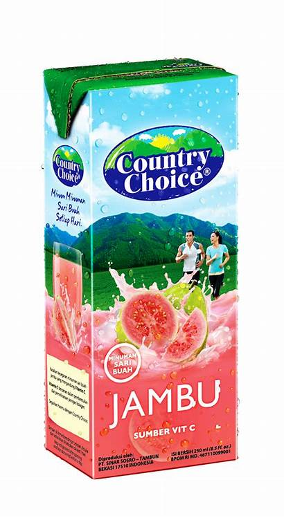 Country Choice Ml Produk Sosro Jeruk