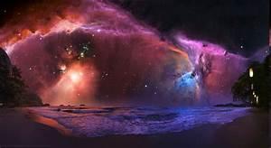 landscape, Space, Nebula, Stars Wallpapers HD / Desktop ...