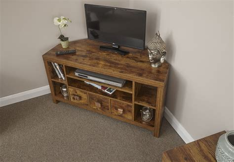 Jakarta Mango Wood Living Room Furniture Corner Tv Unit