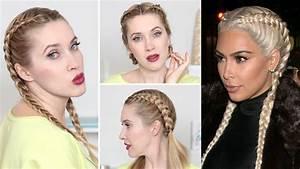 Coiffure Tresse Africaine : 3 coiffures pour la rentr e la kardashian tresses ~ Nature-et-papiers.com Idées de Décoration