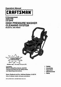 Craftsman 580 768020 User Manual