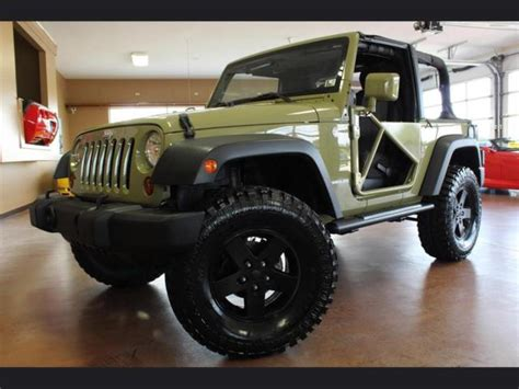 jeep wrangler 2 door modified 2013 jeep wrangler sport automatic 2 door 35 quot tires custom