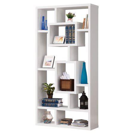 Walmart White Bookcase by Coaster White Interlocking Bookcase Walmart