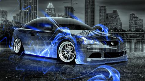honda integra jdm crystal fire city car  el tony
