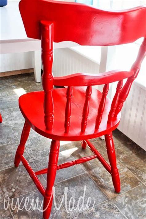 Red Kitchen Chairs   Paperblog