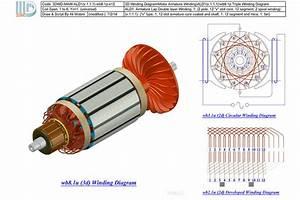 3d Winding Diagram-ald1 V 1 1 1  - - 3d Cad Model