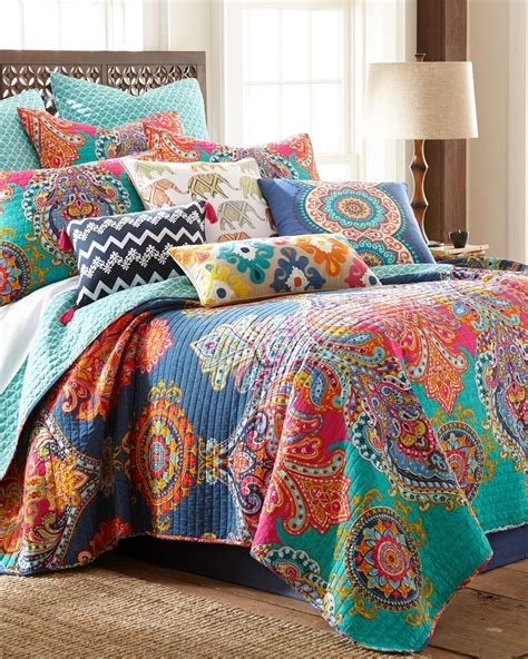 Bedroom Quilt Sets by Paisley Luxury Quilt View Alaina S Room In