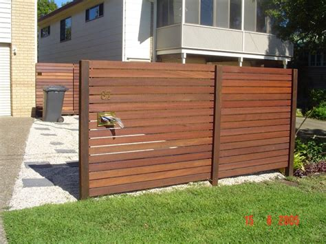 Fence Ideas Horizontal And Vertical Slats