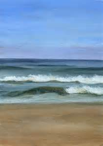 Acrylic Landscape Paintings Ocean