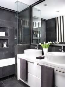 and black bathroom ideas black and grey bathrooms 2017 grasscloth wallpaper