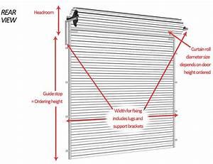 Manual Garage Roller Door Flyscreen Queensland