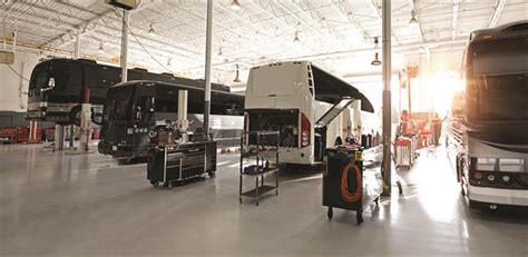 prevost adds  parts service centers  network
