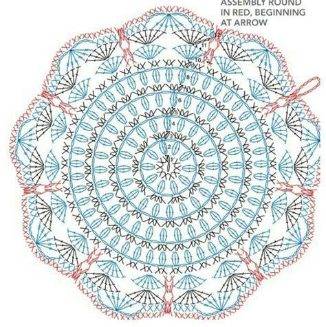 unit crochet pattern napperon crochet crochet