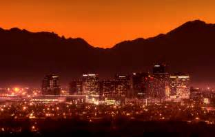 Phoenix Arizona Downtown Sunset