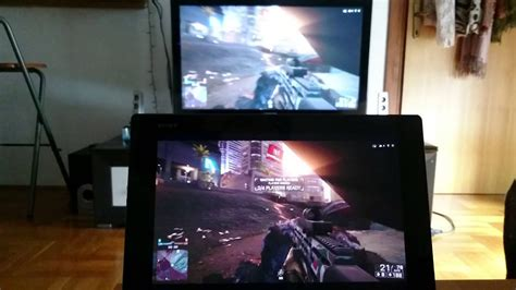 playstation 4 remote play battlefield 4 xperia z2 tablet youtube