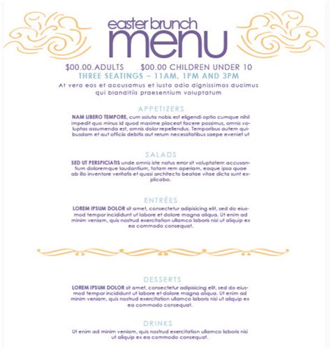 free menu templates top 30 free restaurant menu psd templates in 2018 colorlib