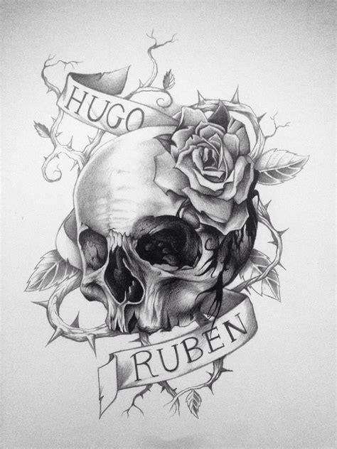 Dibujo Tattoo Catrina Para