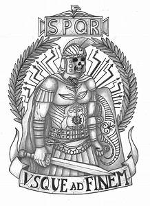 Roman Legionary tattoo by thehoundofulster on DeviantArt