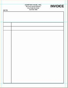 examples invoices for services rendered invoice template With blank invoice for services rendered