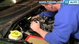 How To Install Replace Distributor Cap Rotor Dodge Dakota