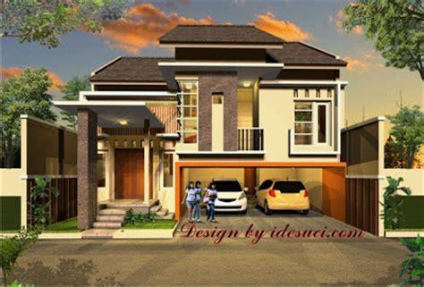 gambar  desain rumah minimalis garasi  mobil terbaru
