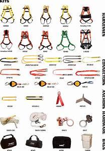 Safety Harness Belt Parts Name