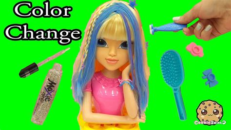 Magic Hair Color Changing Moxie Girlz Doll Style Head