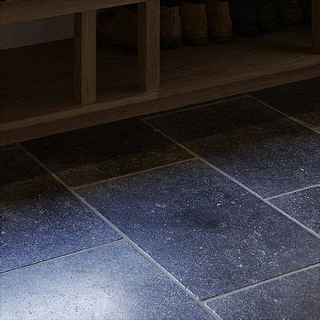 tumbled belgian blue tiles aged limestone floor tiles