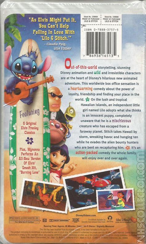 Zootopia 2016 dvd menu walkthrough. Lilo and Stitch   VHSCollector.com