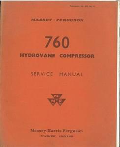 Massey Ferguson 760 Hydrovane Compressor Service Manual