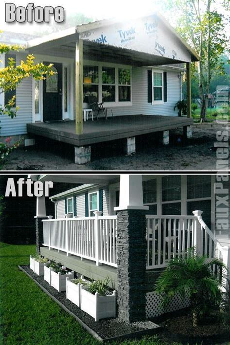 Front Porch Ideas For Homes by 9 Beautiful Manufactured Home Porch Ideas