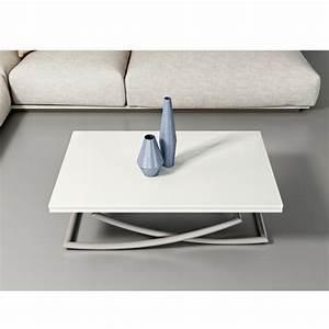 Table De Salon Modulable : table basse modulable design sakura acier ~ Teatrodelosmanantiales.com Idées de Décoration