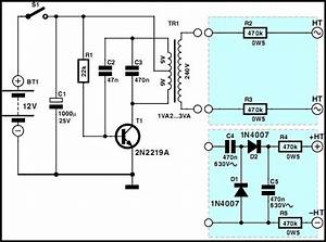 Mini High Voltage Generator  Circuit  Electronics