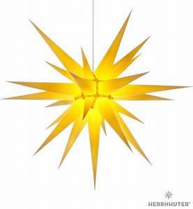 Papierstern Mit Beleuchtung : herrnhuter stern i8 gelb papier 80 cm von herrnhuter sterne ~ Watch28wear.com Haus und Dekorationen